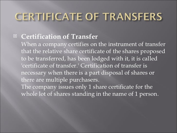 Transfer of shares revn financial institution 25 yelopaper Choice Image