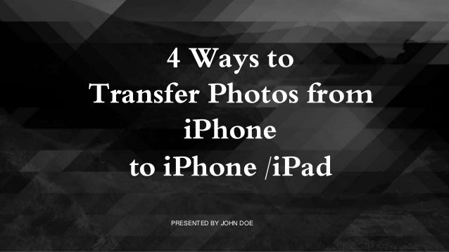 how to send photos iphone touch