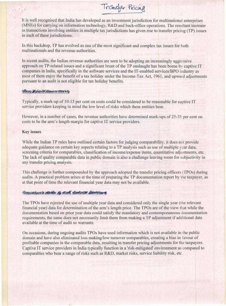 L   _   ~    .            It is well recognised that India has developed as an investment jurisdiction for multinational e...