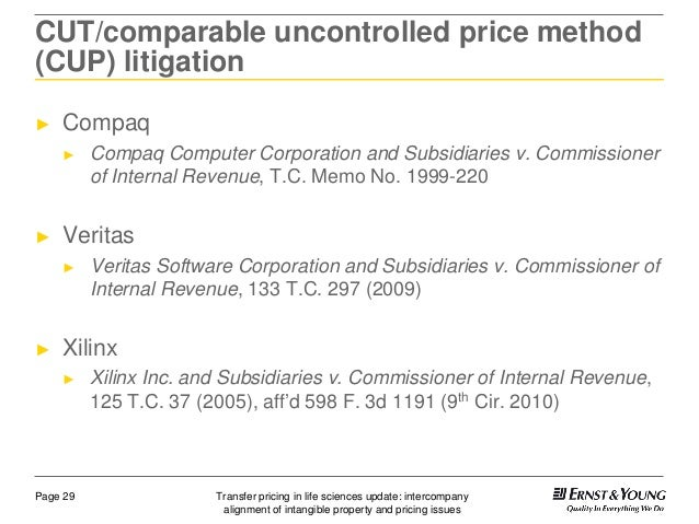 General appliance corporation transfer pricing problem