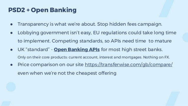 TransferWise - from Product to Platform