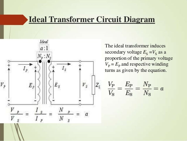 electrical transfomers ideal transformer circuit diagram