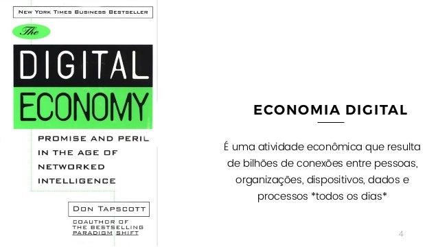 4 ECONOMIA DIGITAL É uma atividade econômica que resulta de bilhões de conexões entre pessoas, organizações, dispositivos,...