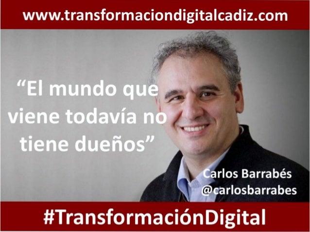 Transformación Digital. Reinventando las Organizaciones y Canalizando la Disrupción de la Economía Digital. Slide 3