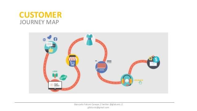 Customer Journey MapCUSTOMER JOURNEY MAP Giancarlo Falconi Canepa // twitter @gfalconic // gfalconic@gmail.com