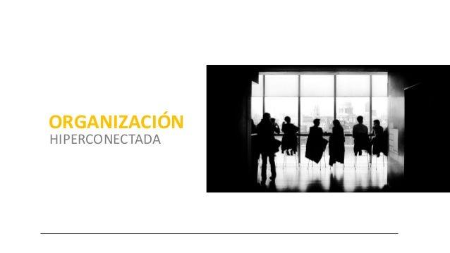 ORGANIZACIÓN HIPERCONECTADA Giancarlo Falconi Canepa // twitter @gfalconic // gfalconic@gmail.com