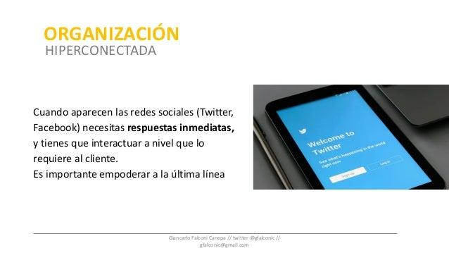 Cuando aparecen las redes sociales (Twitter, Facebook) necesitas respuestas inmediatas, y tienes que interactuar a nivel q...