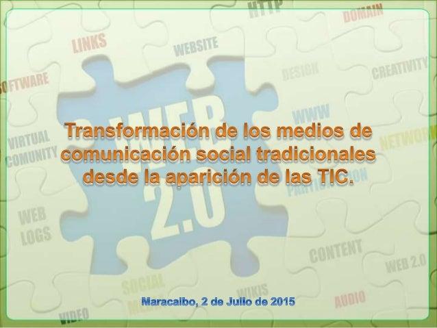 Las innovaciones tecnológicas, han favorecido el manejo de la comunicación, de la información y del conocimiento. Con el n...