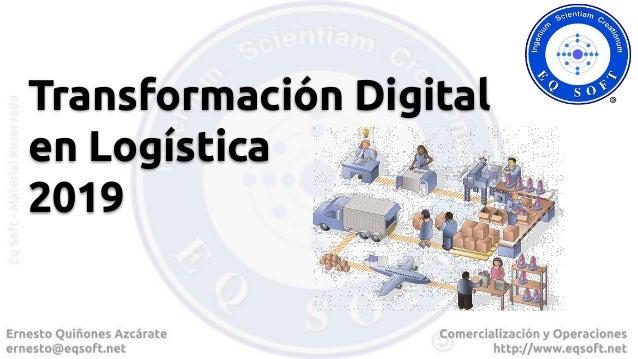 Transformación Digital en Logística 2019