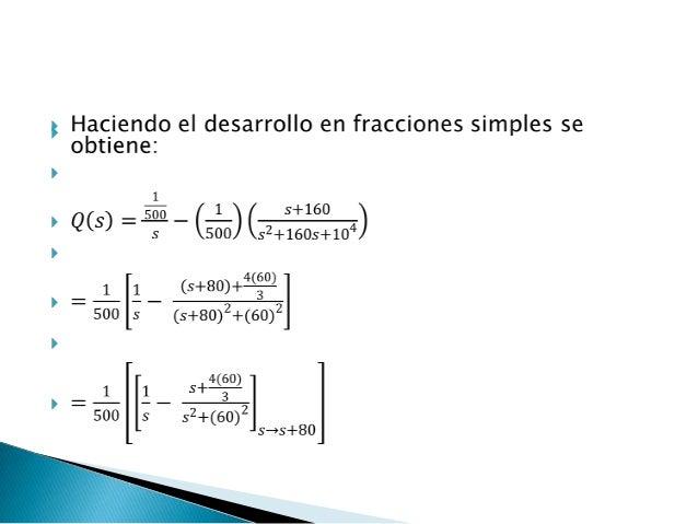 Circuito Rlc Ecuaciones Diferenciales : Modelo circuitos rlc