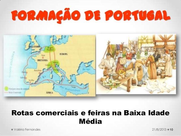 FORMAÇÃO DE PORTUGAL Um problema controverso O problema ...