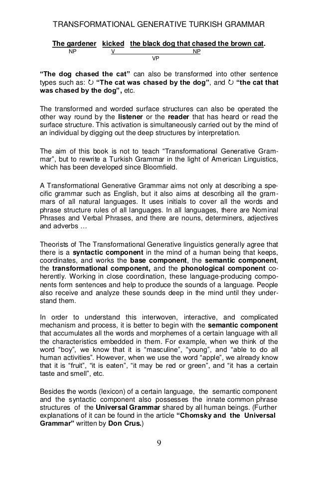 Transformational generative turkish grammar yuksel goknel 2010 signed 10 transformational generative turkish expocarfo
