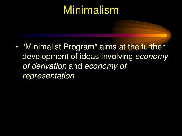 Chomskys Minimalism