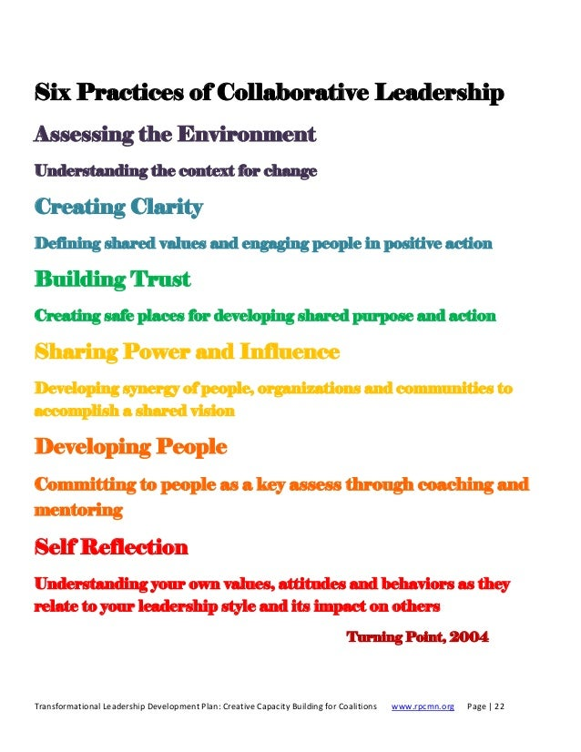 development essay leadership plan transformational Essay on health care leadership development plan the development of my leadership skills is essential in the health care setting because leadership plays an important part in the successful.