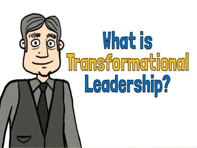 Transformational leadership  ppt 2 Slide 2