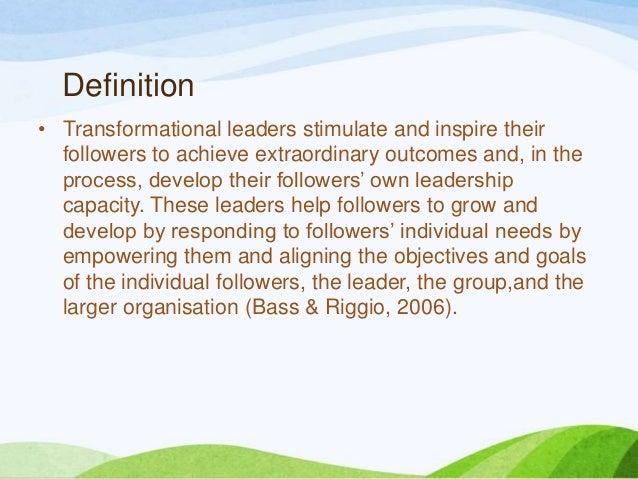 Transformational leadership  ppt 2 Slide 3