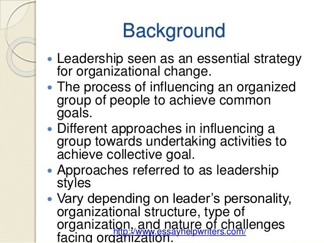 transformational or transactional leadership essay Finally, in contrast to burns, bass suggested that leadership can simultaneously display both transformational and transactional leadership definition of transformational leadership transformational leadership is defined as a leadership approach that causes change in individuals and social systems.