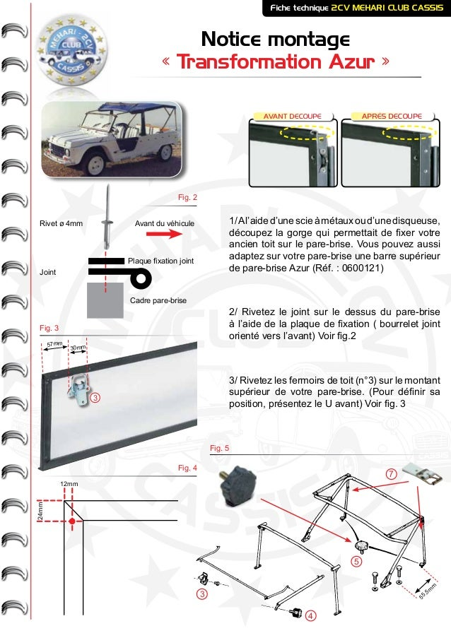 transformation azur 2cv mehari club cassis. Black Bedroom Furniture Sets. Home Design Ideas