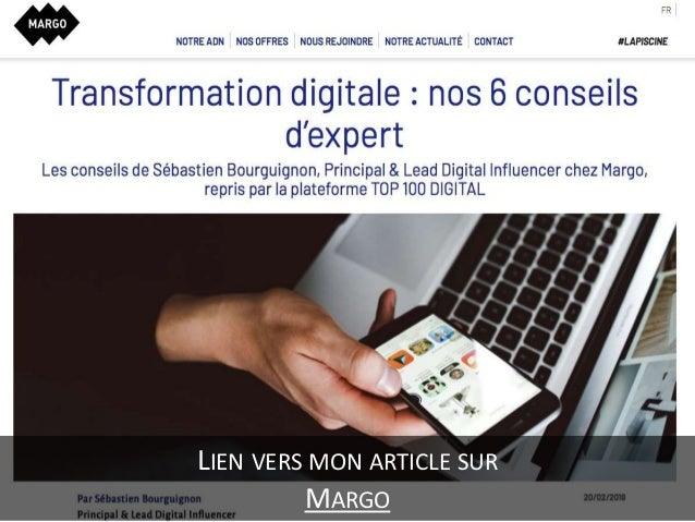 Transformation digitale - nos 6 conseils d'expert Slide 3