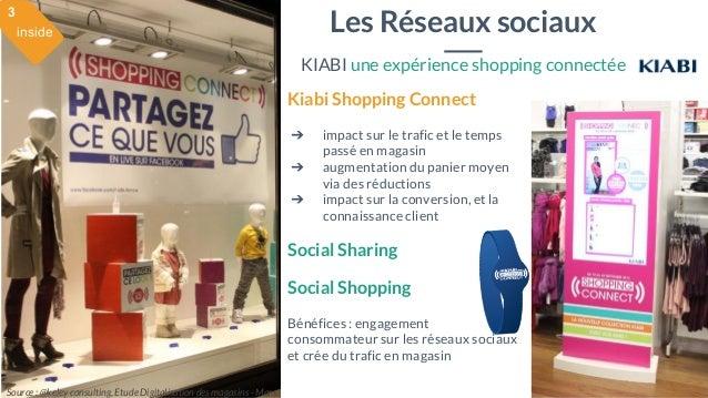 28 mai 2015 #MBAMCI #geekTonStore Kiabi Shopping Connect ➔ impact sur le trafic et le temps passé en magasin ➔ augmentatio...