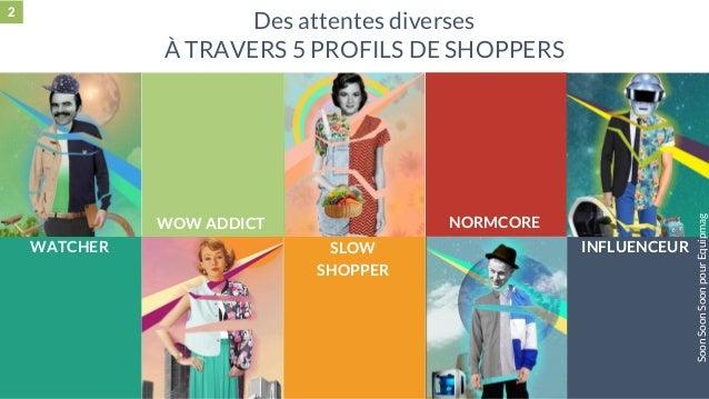 28 mai 2015 #MBAMCI #geekTonStore Des attentes diverses À TRAVERS 5 PROFILS DE SHOPPERS WATCHER WOW ADDICT SLOW SHOPPER NO...