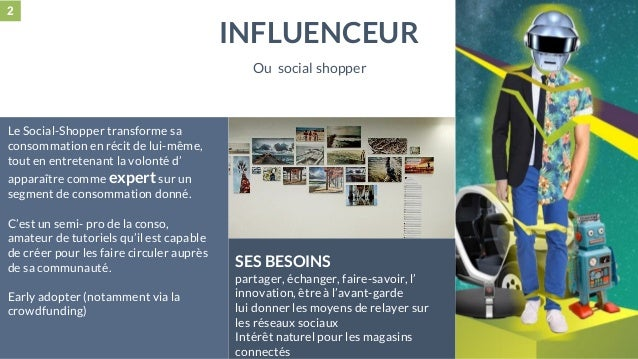 28 mai 2015 #MBAMCI #geekTonStore Le Social-Shopper transforme sa consommation en récit de lui-même, tout en entretenant l...