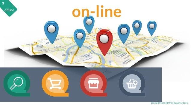 28 mai 2015 #MBAMCI #geekTonStore on-line 3 offline 3
