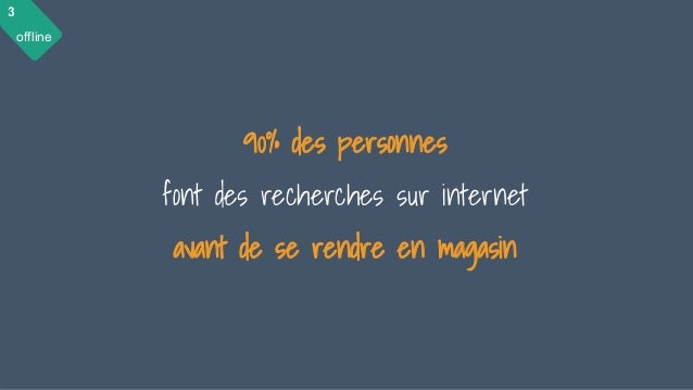 28 mai 2015 #MBAMCI #geekTonStore 68 90% des personnes font des recherches sur internet avant de se rendre en magasin 3 of...