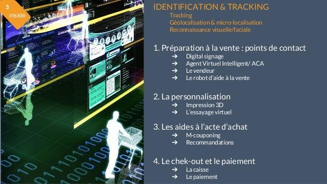 28 mai 2015 #MBAMCI #geekTonStore IDENTIFICATION & TRACKING Tracking Géolocalisation & micro-localisation Reconnaissance v...