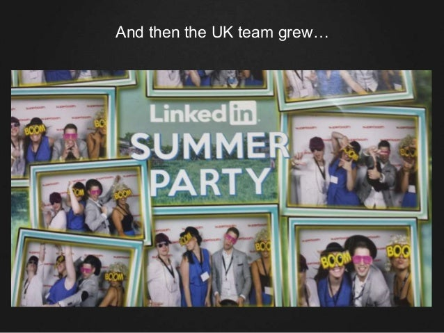 And then the UK team grew…