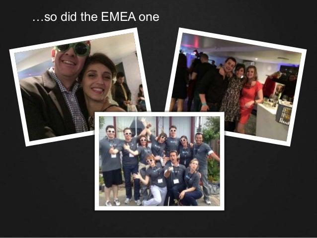 …so did the EMEA one