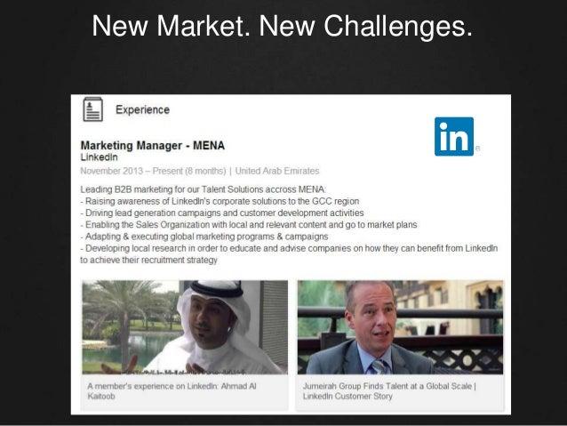 New Market. New Challenges.