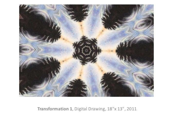 "Transformation 1, Digital Drawing, 18""x 13"", 2011"