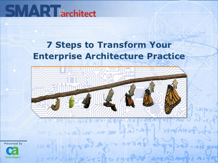 7 Steps to Transform Your Enterprise Architecture Practice