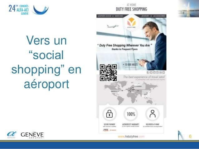 """Vers un """"social shopping"""" en aéroport 6"""