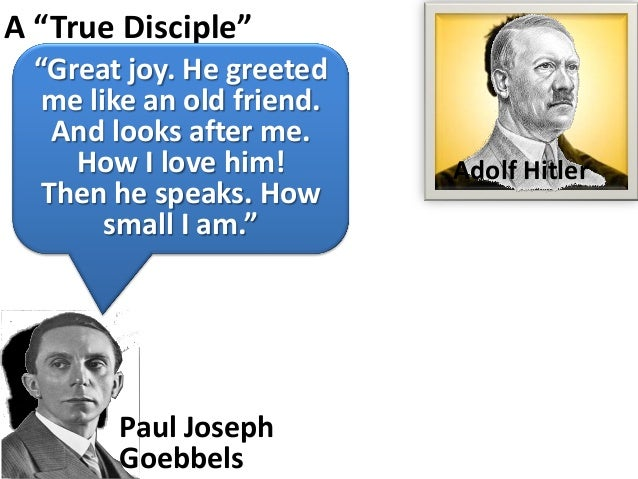 """A """"True Disciple""""  """"Great joy. He greeted   me like an old friend.    And looks after me.     How I love him!        Adolf..."""