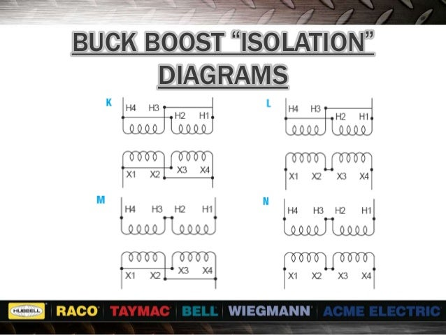 transformer seminar buck boost rh slideshare net 3 Phase Buck-Boost Transformer buck boost wiring diagram