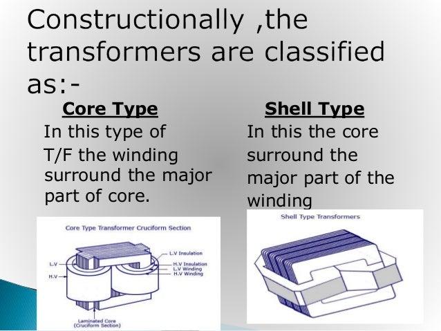 type of transformer winding pdf