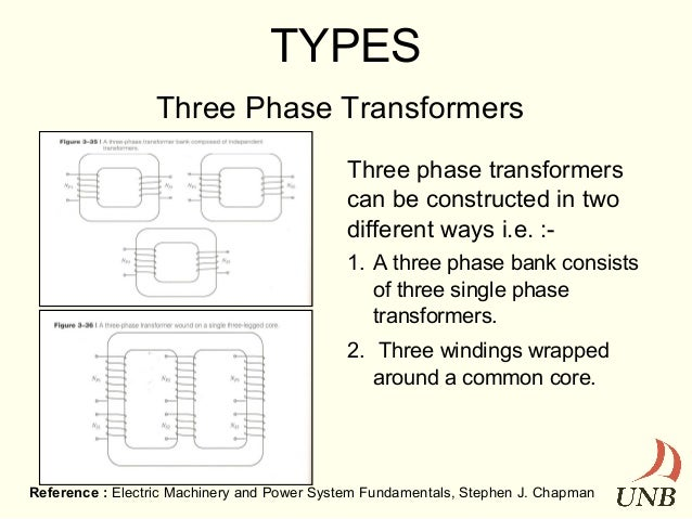 Transformers on Single Phase Transformer Connections Wye