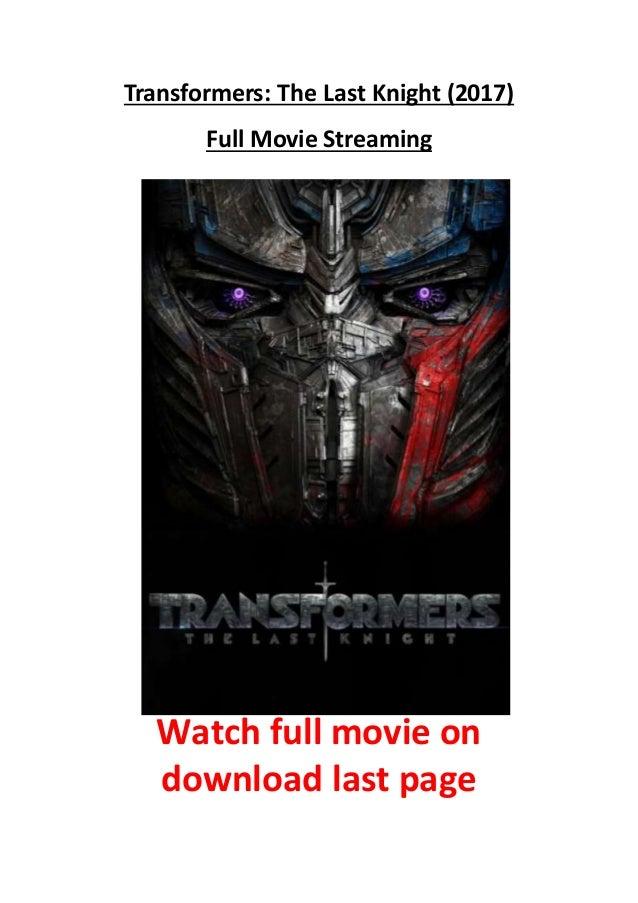 Transformer The Last Knight Stream