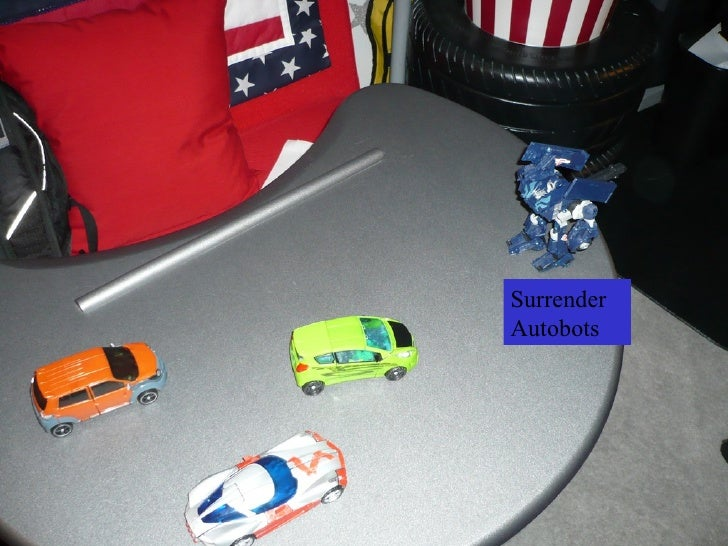 Surrender Autobots