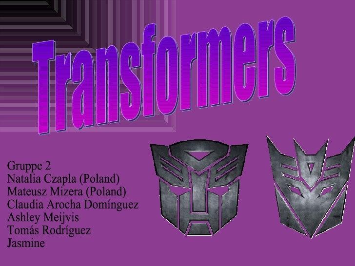 Transformatoren sind ein 2007 amerikanischerauf die Transformator-Spielzeuglinie basierterSciencefictionshandlungsfilm. De...