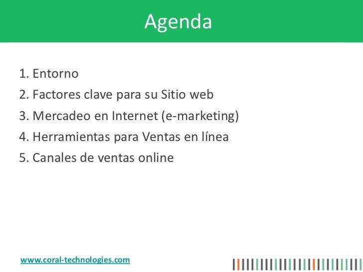 Sitio web exitoso para Ventas por Internet Slide 2