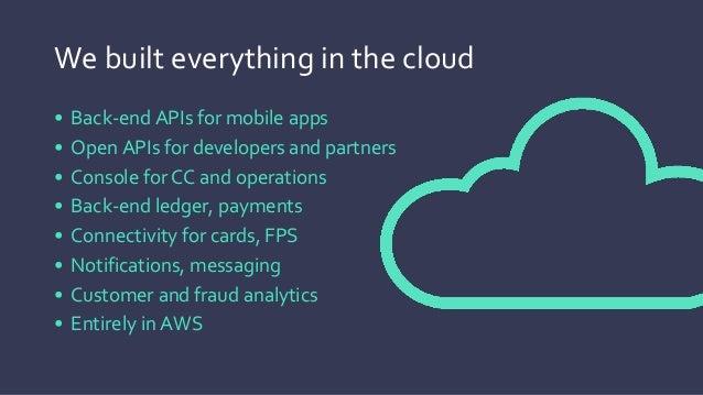The infrastructure • AWS for IaaS – Amazon Elastic Compute Cloud (Amazon EC2), Amazon Virtual Private Cloud (Amazon VPC), ...