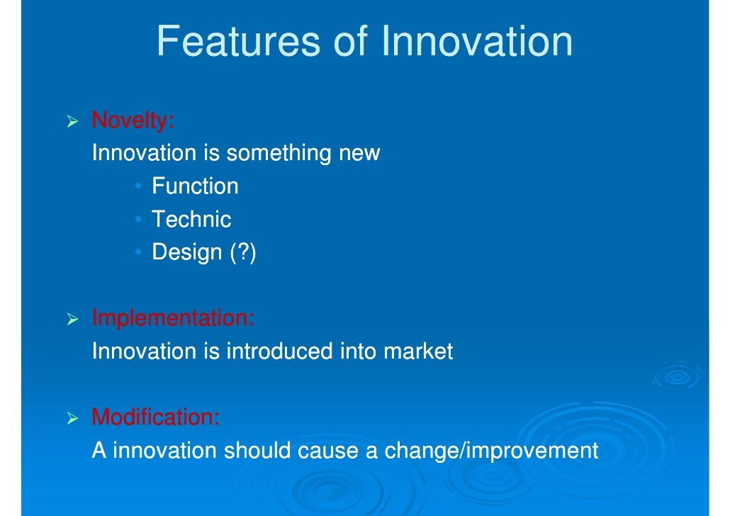 entrepreneurial behavior transforming innovative ideas into Three ideas for encouraging workplace innovation  into innovation here are a few thoughts i have about tapping into that natural problem-solving instinct to.
