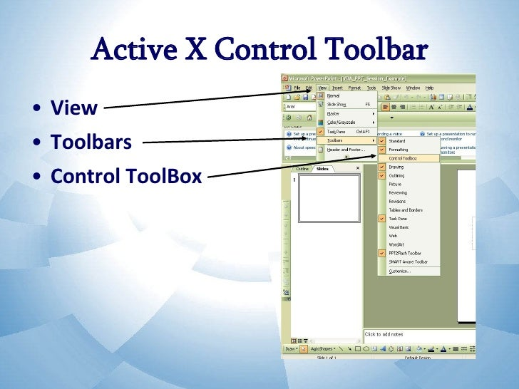 Transforming Power Point Show with VBA