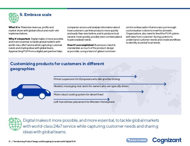 Transforming Product Design And Energizing Innovation With Digital Plm