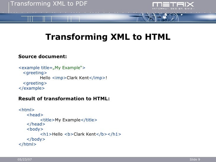 Xml Tutorial For Beginners With Examples Pdf