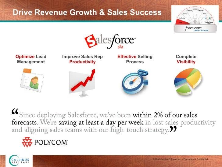 Drive Revenue Growth & Sales Success Effective  Selling Process Optimize  Lead Management Complete  Visibility Improve Sal...