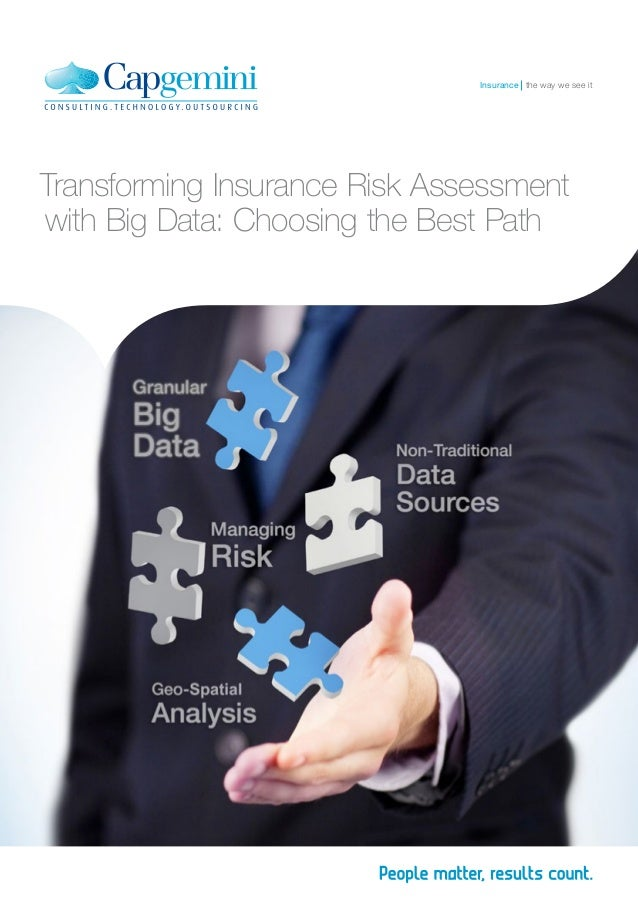 Transforming Insurance Risk Assessment with Big Data: Choosing the Best Path the way we see itInsurance